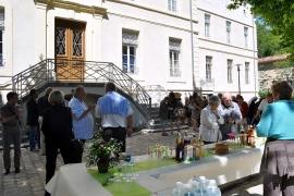 La résidence Rollin, jour de fête